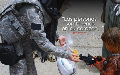 Las personas son buenas en su corazón… ¡Pero no saben cómo demostrar la bondad que tienen!