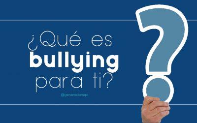 Las muchas caras del bullying