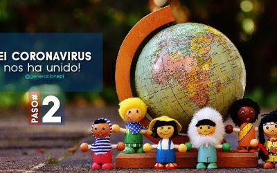 2do Paso para sobrevivir la crisis del Coronavirus y lograr el #FocoEnLoPositivo