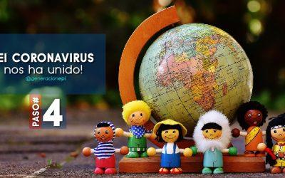 4to Paso para Sobrevivir la Crisis del Coronavirus y Lograr el #FocoEnLoPositivo