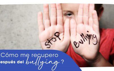 ¿Cómo me recupero después del bullying?